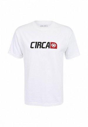 Футболка C1rca CR002EMFV478. Цвет: белый