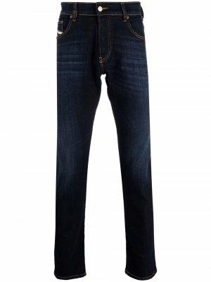 Зауженные джинсы D-Yennox Diesel. Цвет: синий