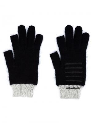 Трикотажные перчатки Rick Owens. Цвет: чёрный