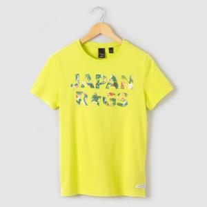 Футболка 8-16 лет JAPAN RAGS. Цвет: зеленый
