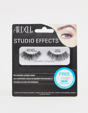 Накладные ресницы Lashes Studio Effects Demi Wispies-Черный цвет Ardell
