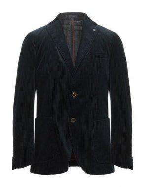 Пиджак ANGELO NARDELLI. Цвет: темно-синий