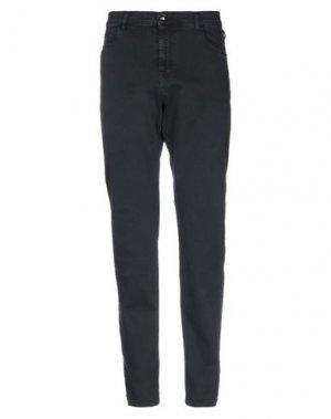 Джинсовые брюки CAVALLI CLASS. Цвет: черный