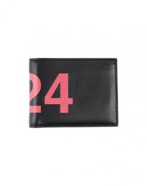 Бумажник 424 FOURTWOFOUR. Цвет: черный