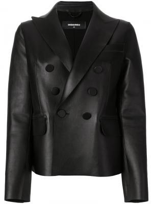 Куртка Napoli Dsquared2. Цвет: чёрный