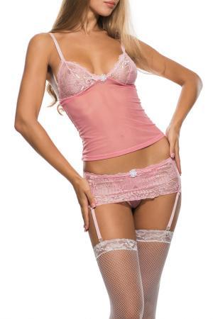 Комплект LE CABARET. Цвет: светло-розовый