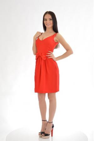 Платье Moschino Cheap and Chic. Цвет: красный