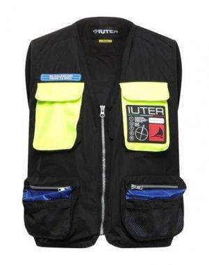 Куртка IUTER. Цвет: черный