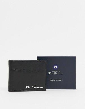 Кожаный кошелек с RFID от -Черный Ben Sherman