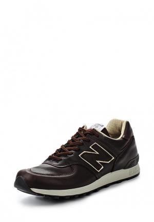Кроссовки New Balance M576 (UK) LEATHER PACK. Цвет: коричневый