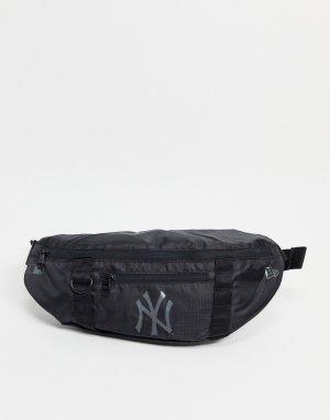 Черная сумка-кошелек на пояс NY-Черный цвет New Era