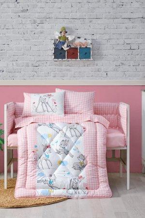Baby sleep set Cotton box. Цвет: pink, white, blue