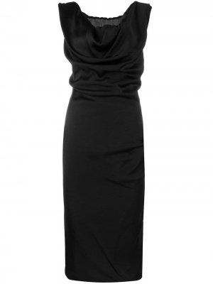 Платье миди без рукавов Vivienne Westwood. Цвет: черный