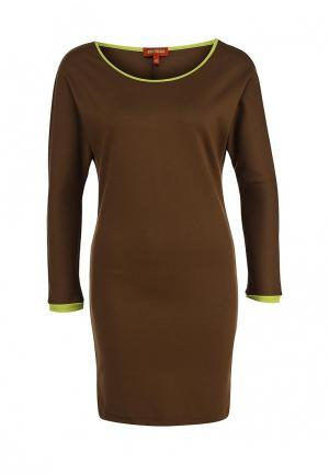 Платье Анна Чапман. Цвет: хаки