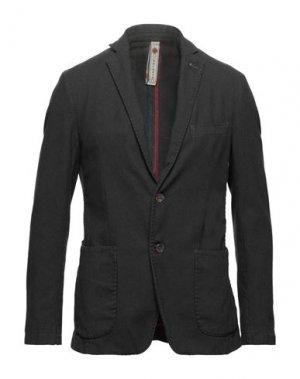 Пиджак BERNESE Milano. Цвет: темно-коричневый