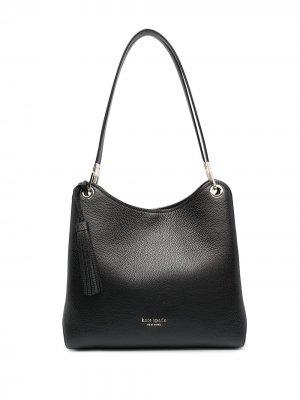 Большая сумка-тоут Loop Kate Spade. Цвет: черный