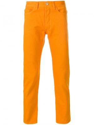 Прямые брюки-чинос Band Of Outsiders. Цвет: оранжевый
