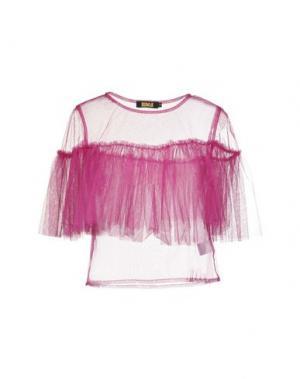Блузка EX-J. Цвет: пурпурный
