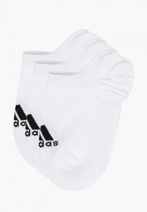 Комплект adidas PER INVIZ T 3P. Цвет: белый