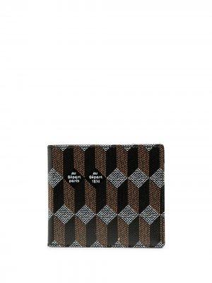 Бумажник с монограммой Au Départ. Цвет: nero