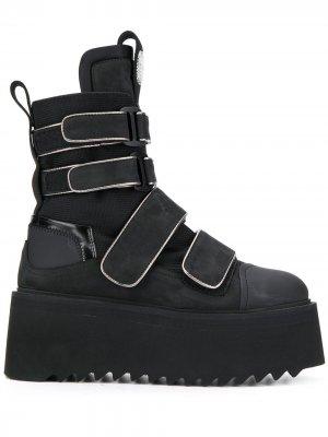 Ботинки Amphibian Bruno Bordese. Цвет: черный