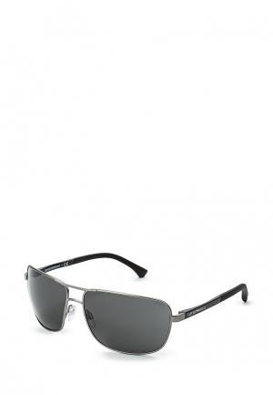 Очки солнцезащитные Emporio Armani EA2033 313087. Цвет: серый