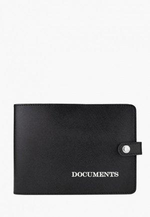 Обложка для документов BB1. Цвет: черный