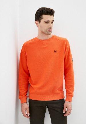 Свитшот Lerros. Цвет: оранжевый