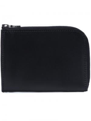 Бумажник на молнии Isaac Reina. Цвет: чёрный