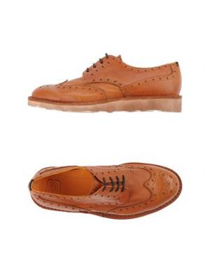 Обувь на шнурках ESSEUTESSE. Цвет: коричневый