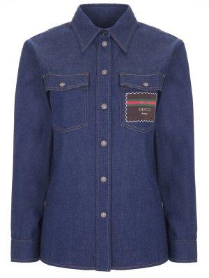 Рубашка джинсовая GUCCI