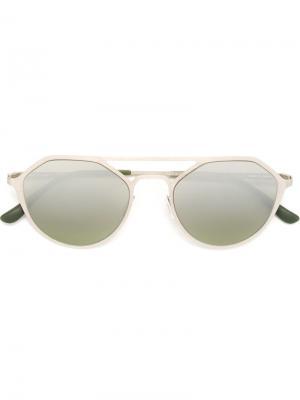 Солнцезащитные очки Italia Independent. Цвет: серый