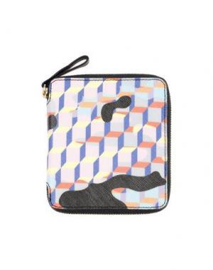 Бумажник PIERRE HARDY. Цвет: светло-розовый