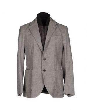 Пиджак AQUASCUTUM. Цвет: голубиный серый