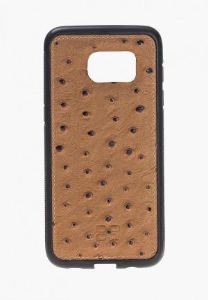 Чехол для телефона Bouletta Samsung Galaxy S7 Edge Flex Cover. Цвет: коричневый