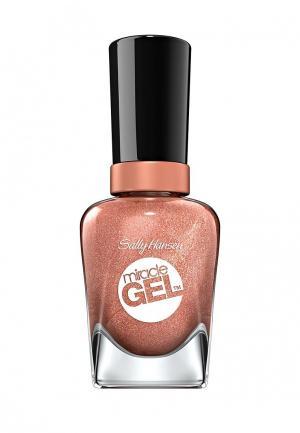 Гель-лак для ногтей Sally Hansen Miracle Gel, 660 Terra-Coppa, 14 мл. Цвет: коричневый