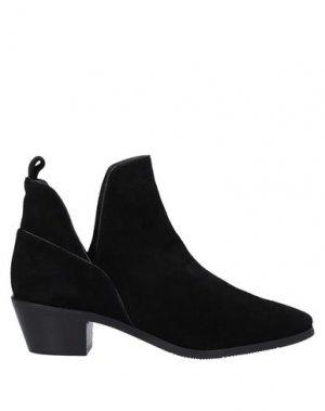 Ботинки EVALUNA. Цвет: черный