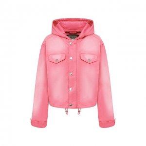 Джинсовая куртка Kenzo. Цвет: розовый