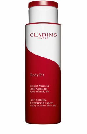 Антицеллюлитный крем-гель с эффектом лифтинга Body Fit Clarins. Цвет: бесцветный