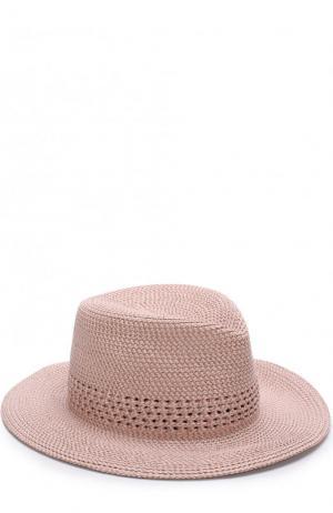 Шляпа Eric Javits. Цвет: светло-розовый
