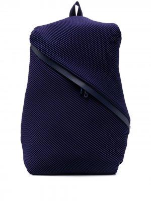 Рюкзак Bias Pleats Please Issey Miyake. Цвет: синий
