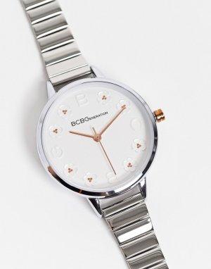 Часы-браслет BCBG Generation-Серебристый MaxAzria