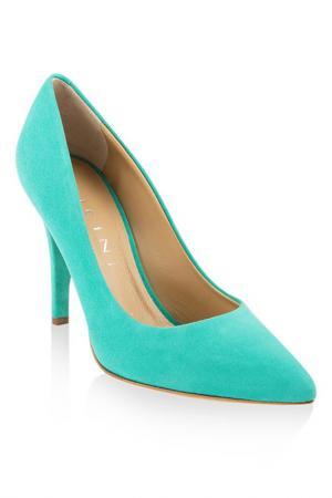 Туфли Vicini. Цвет: зеленый