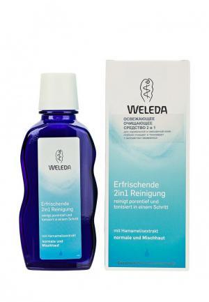 Лосьон для лица Weleda освежающий очищающий 2 в 1 нормальной и смешанной кожи, 100 мл