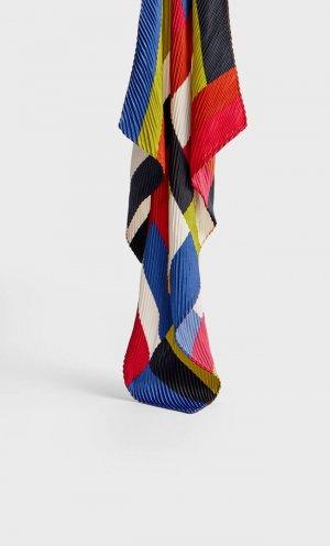 Повязка На Голову В Полоску С Плиссировкой Женская Коллекция Multicolor 103 Stradivarius. Цвет: multicolor