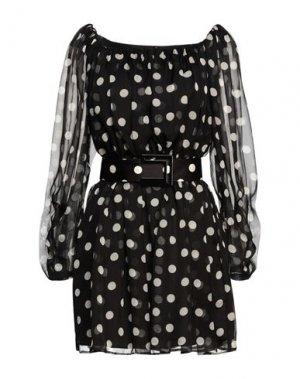 Короткое платье EUREKA by BABYLON. Цвет: черный