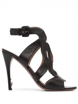 Босоножки на высоком каблуке Alaïa Pre-Owned. Цвет: черный