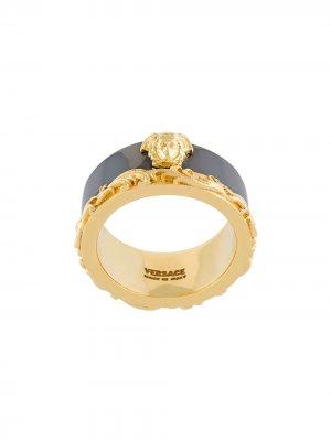 Barocco Border ring Versace. Цвет: золотистый
