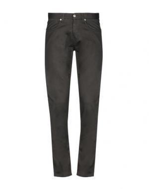 Повседневные брюки 2 MEN. Цвет: темно-коричневый