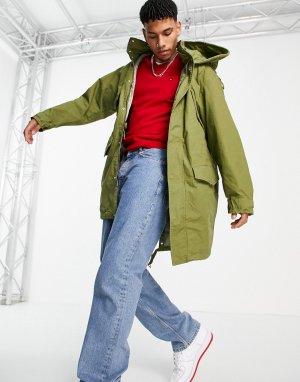 Парка-куртка -Зеленый цвет Tommy Hilfiger
